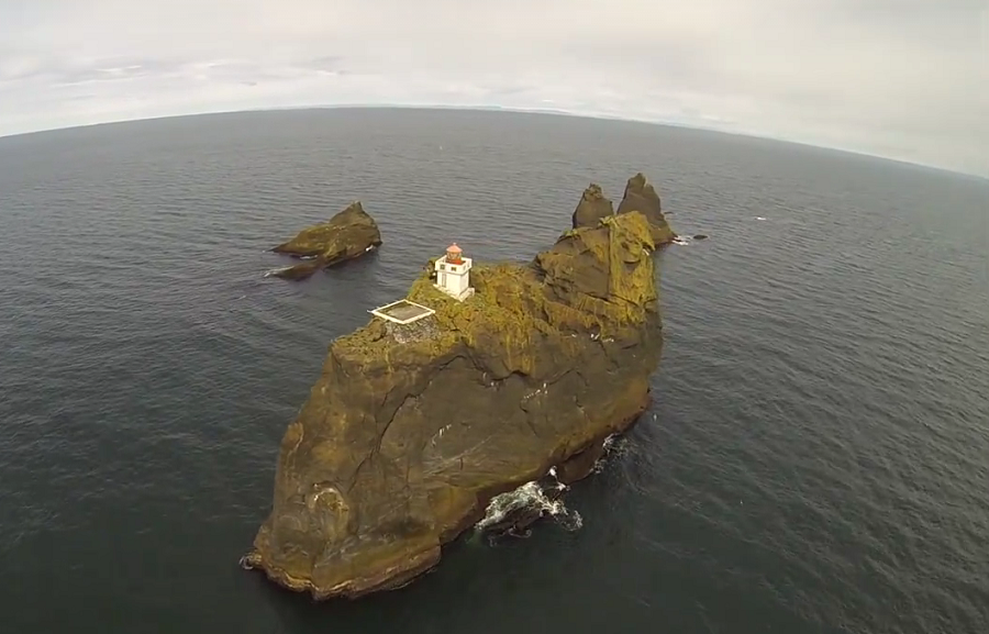 Faro Pridangar en Islandia